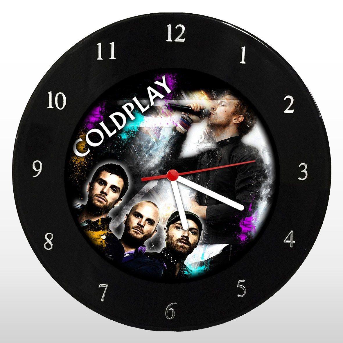 Coldplay - Relógio de Parede em Disco de Vinil - Mr. Rock