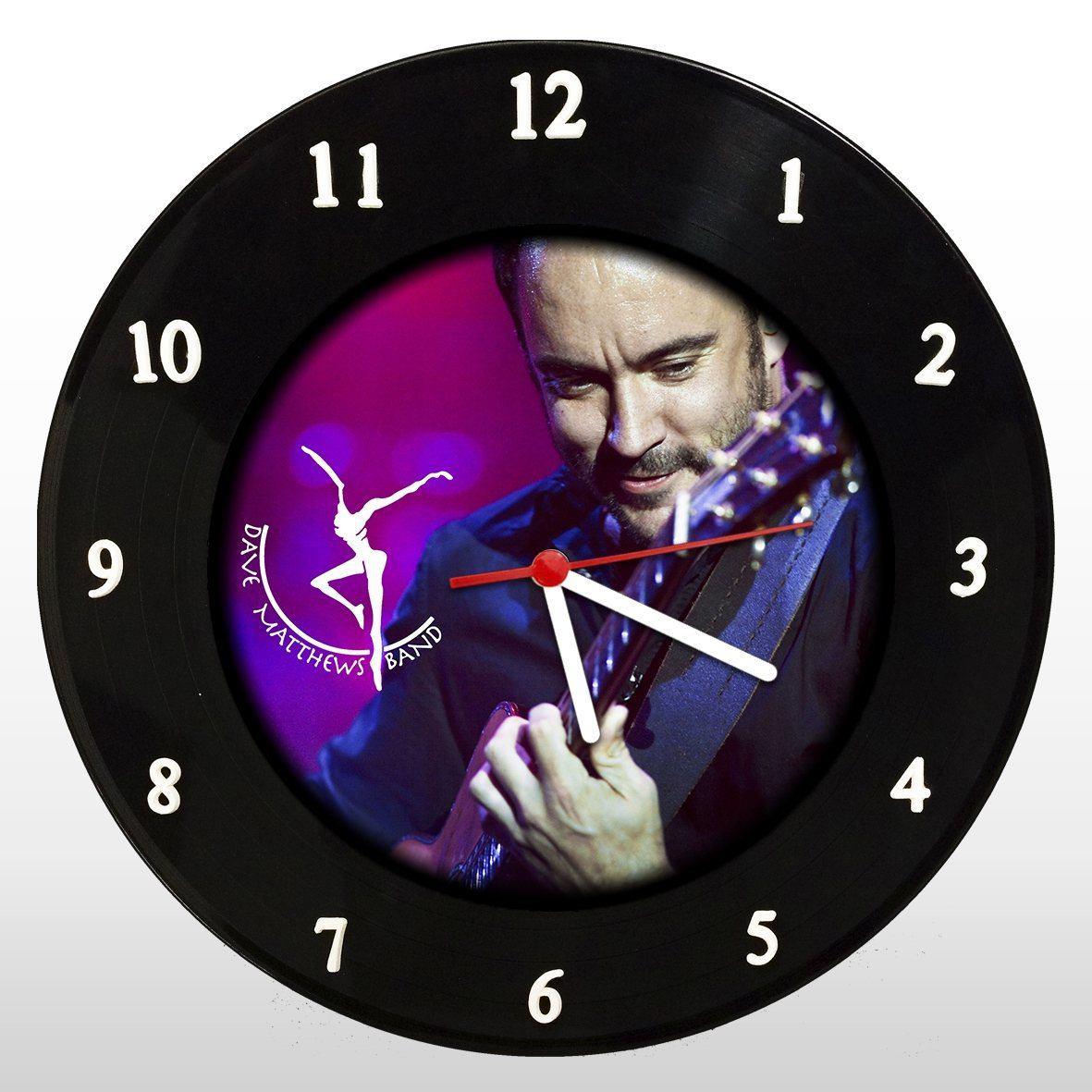 Dave Matthews Band - Relógio de Parede em Disco de Vinil - Mr. Rock