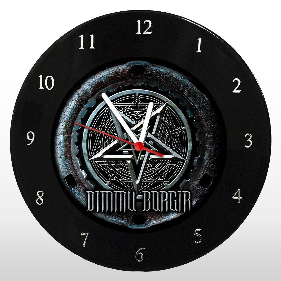 Dimmu Borgir - Relógio de Parede em Disco de Vinil - Mr. Rock