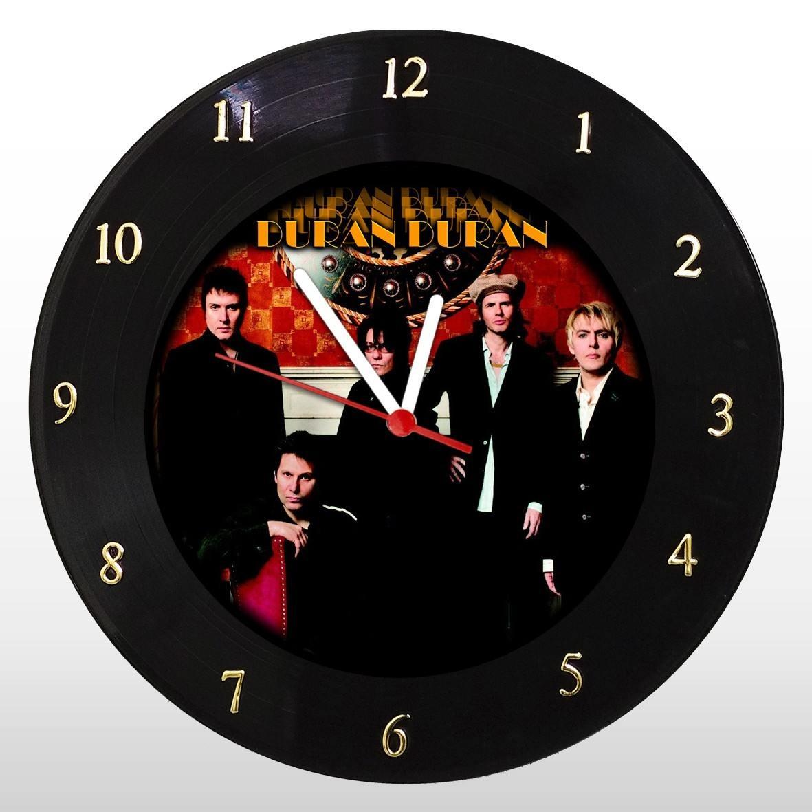 Duran Duran - Relógio de Parede em Disco de Vinil - Mr. Rock