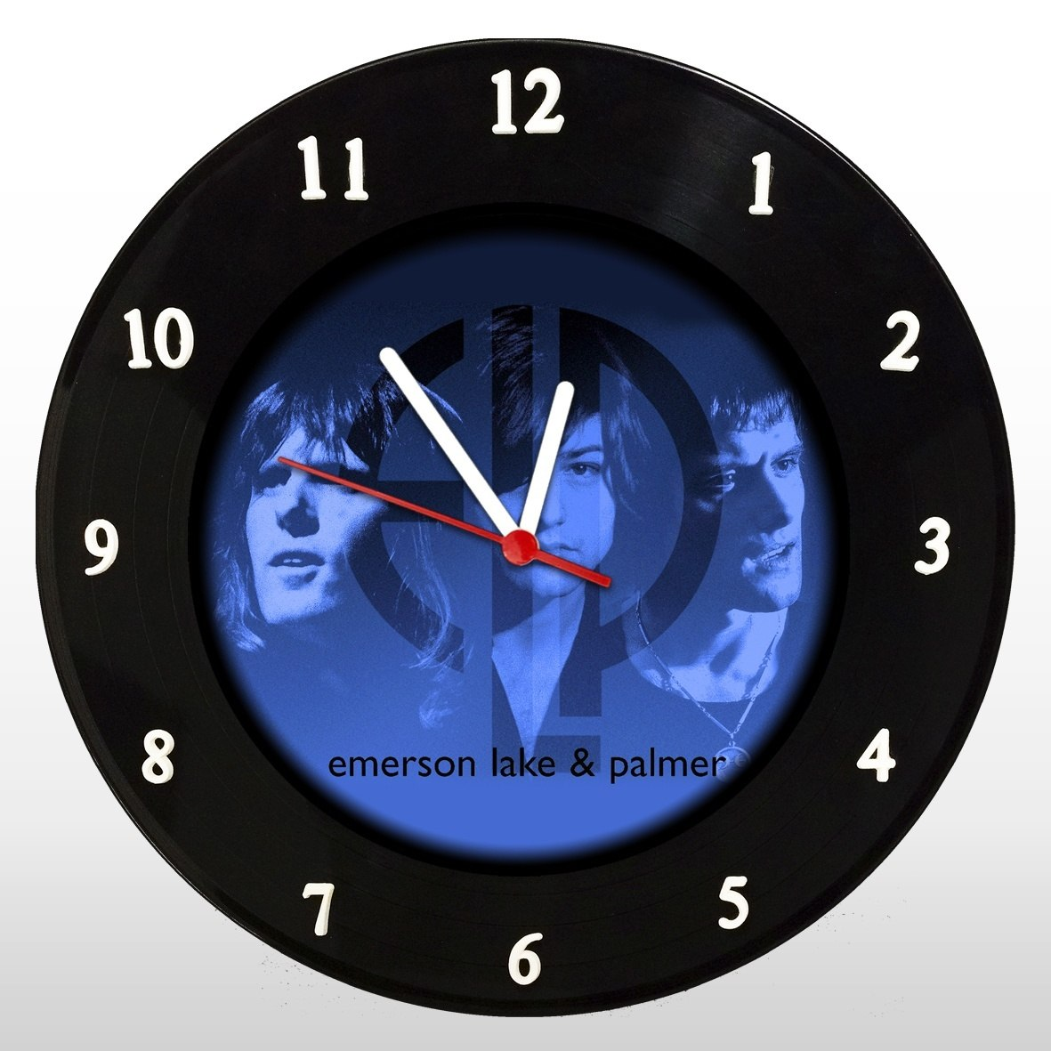 ELP - Relógio de Parede em Disco de Vinil - Mr. Rock - Emerson Lake and Palmer