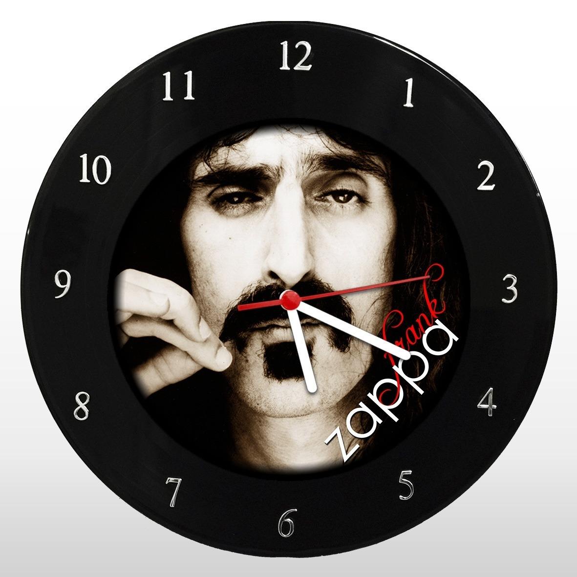 Frank Zappa - Relógio de Parede em Disco de Vinil - Mr. Rock
