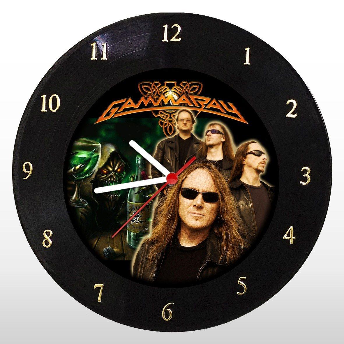 Gammaray -  Relógio de Parede em Disco de Vinil - Mr. Rock