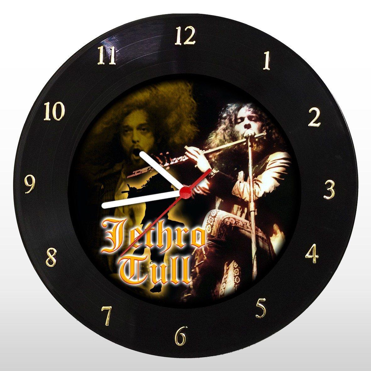 Jethro Tull - Relógio de Parede em Disco de Vinil - Mr. Rock