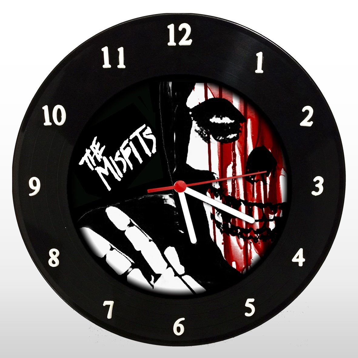 Misfits - Relógio de Parede em Disco de Vinil - Mr. Rock