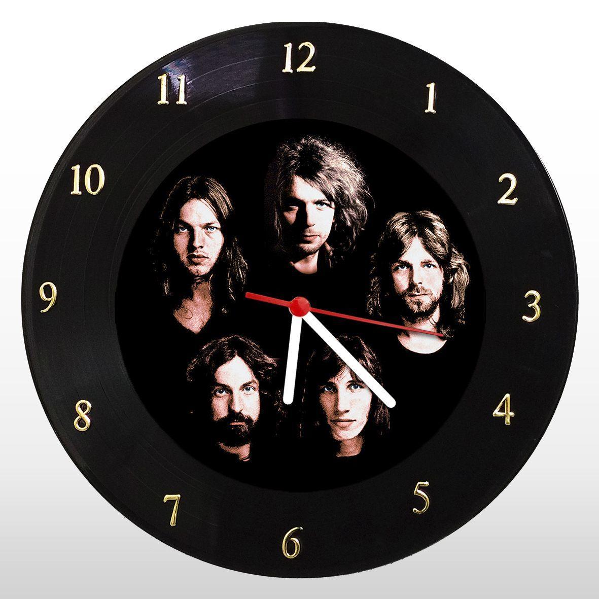 Pink Floyd - Relógio de Parede em Disco de Vinil - Mr. Rock