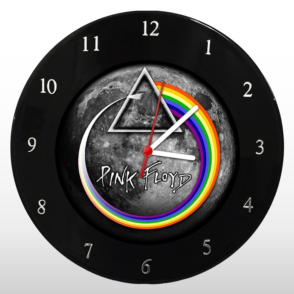 Pink Floyd - Dark Side - Relógio de Parede em Disco de Vinil - Mr. Rock