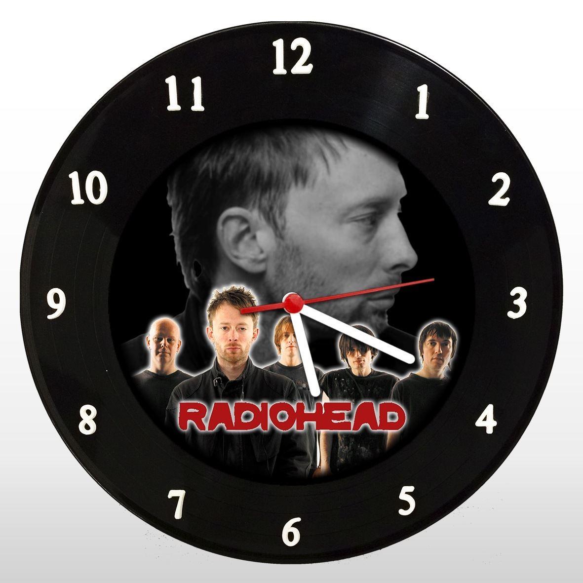 Radiohead - Relógio de Parede em Disco de Vinil - Mr. Rock