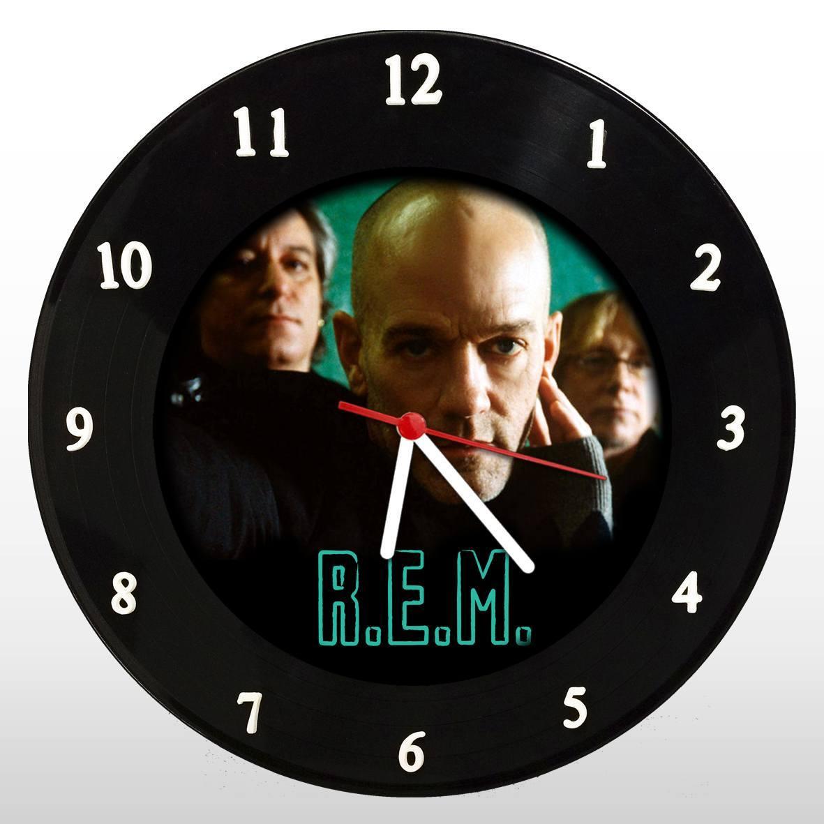 R.E.M. - Relógio de Parede em Disco de Vinil - Mr. Rock