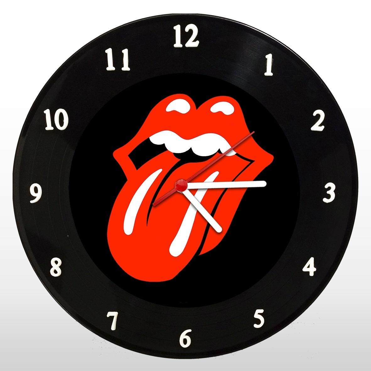 Rolling Stones - Relógio de Parede em Disco de Vinil - Mr. Rock