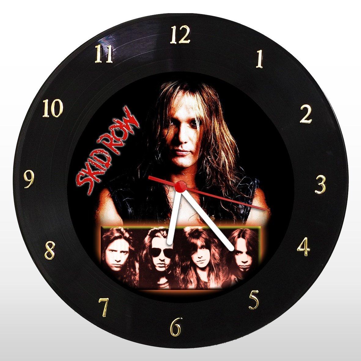 Skid Row - Relógio de Parede em Disco de Vinil - Mr. Rock