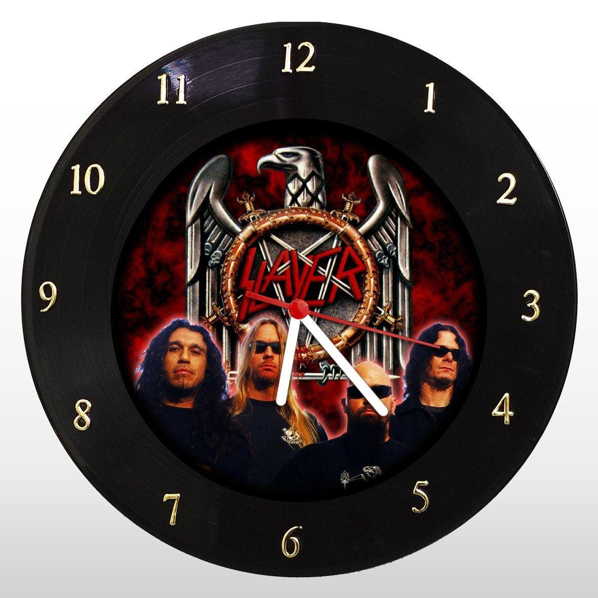 Slayer - Relógio de Parede em Disco de Vinil - Mr. Rock
