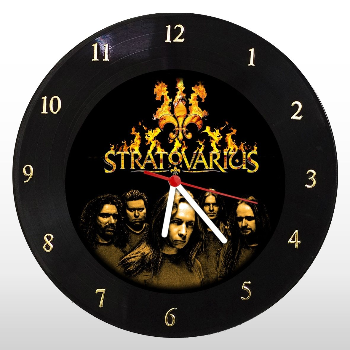 Stratovarius - Relógio de Parede em Disco de Vinil - Mr. Rock