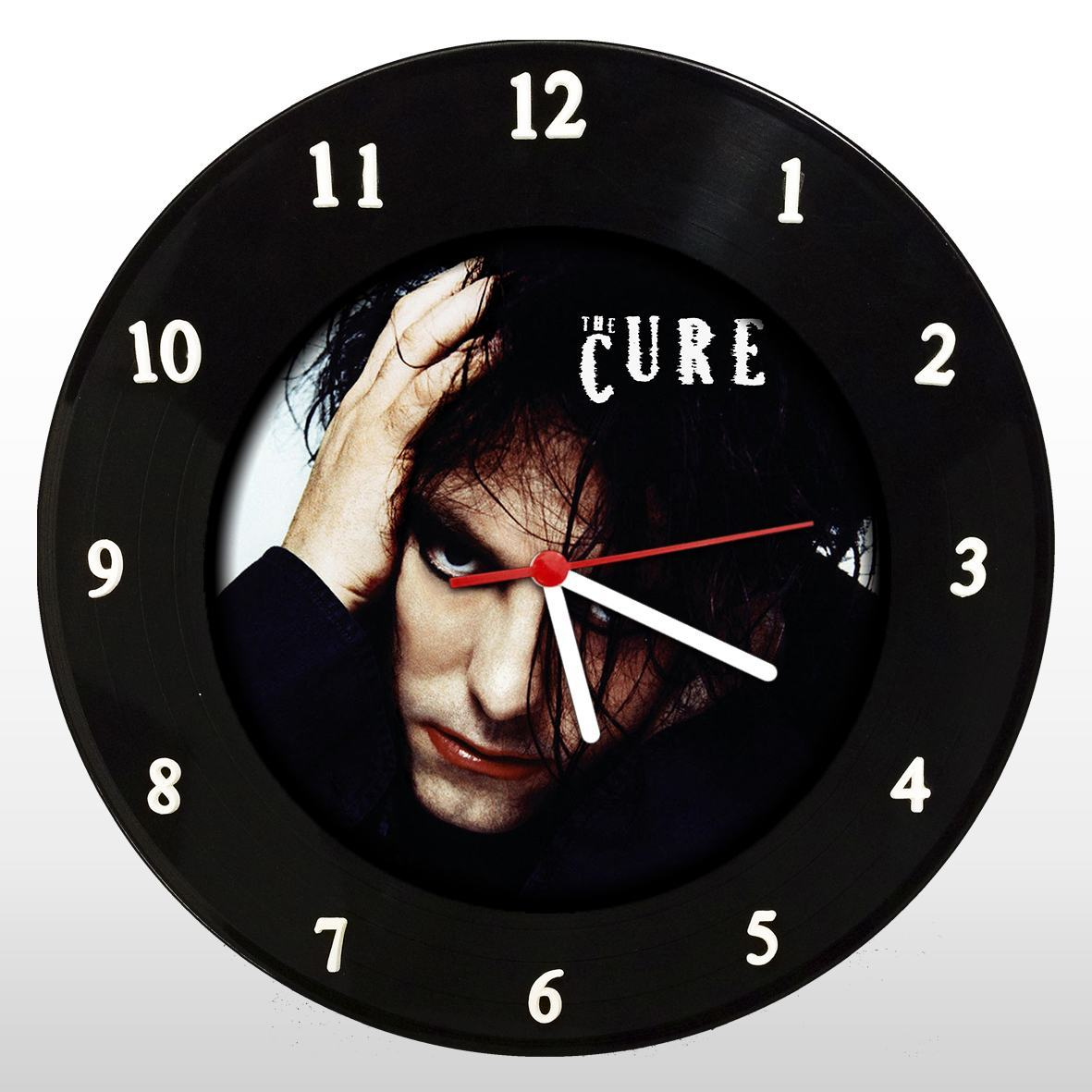 The Cure - Relógio de Parede em Disco de Vinil - Mr. Rock