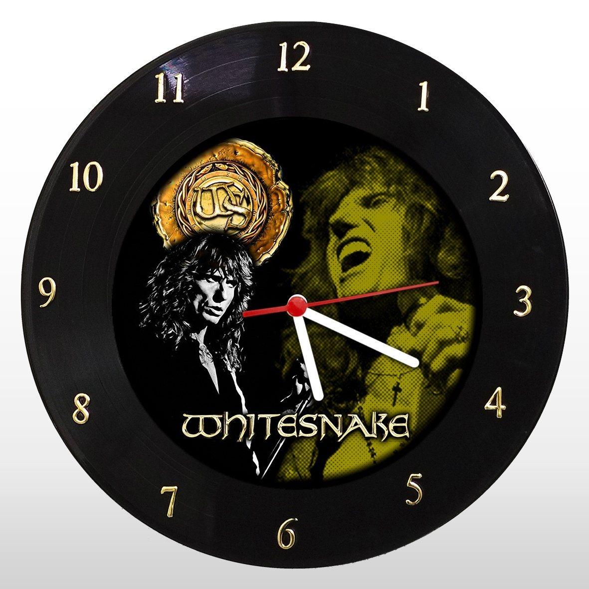Whitesnake - Relógio de Parede em Disco de Vinil - Mr. Rock