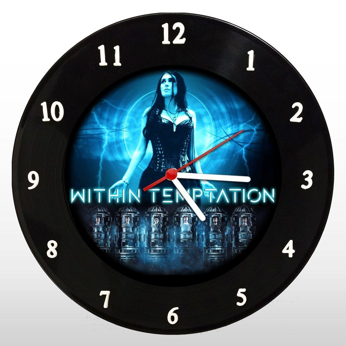 Within Temptation - Relógio de Parede em Disco de Vinil - Mr. Rock