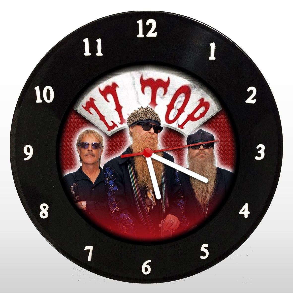 ZZ Top - Relógio de Parede em Disco de Vinil - Mr. Rock