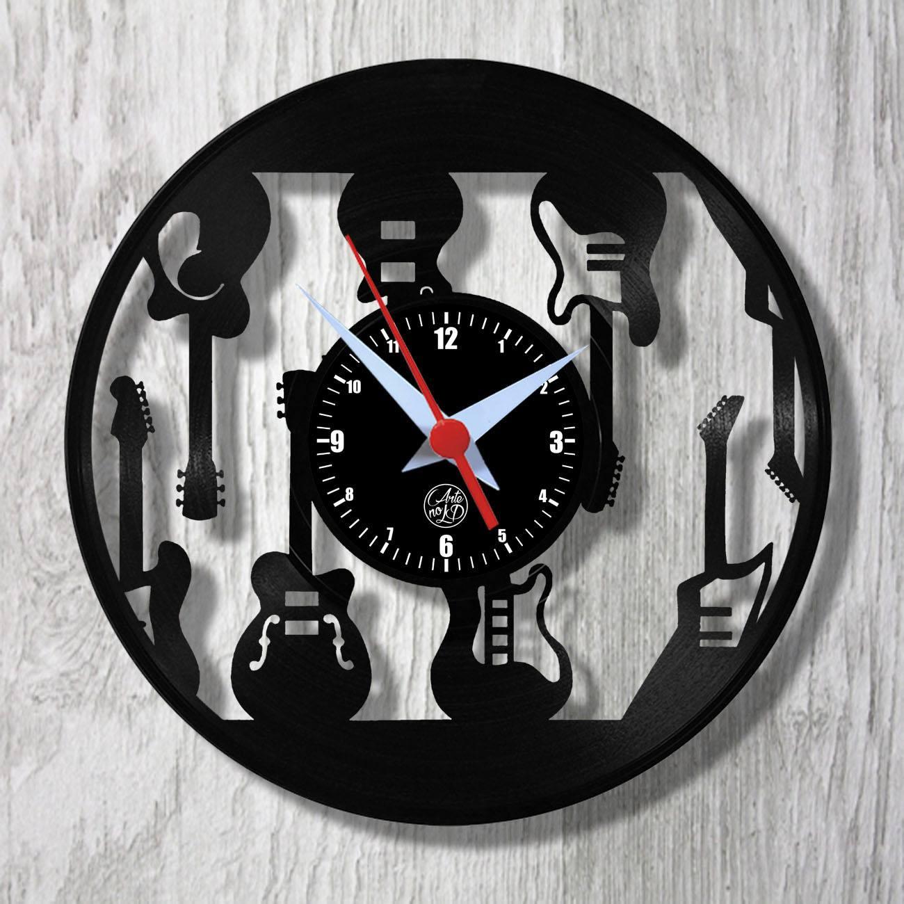 Relógio de Parede - Guitarras