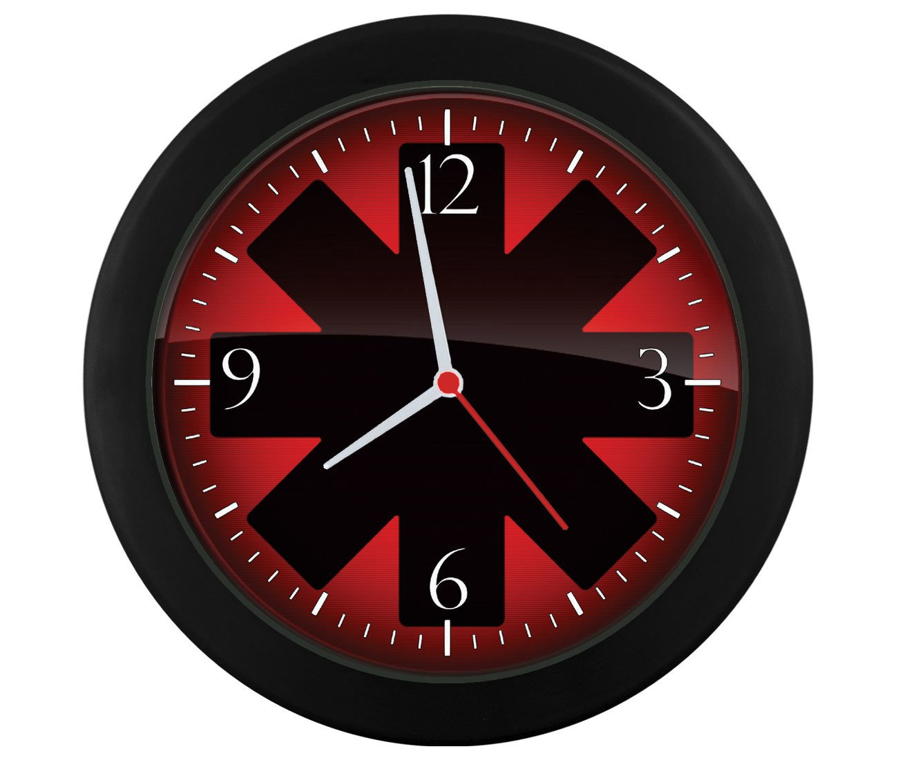 Relógio de parede Red Hot