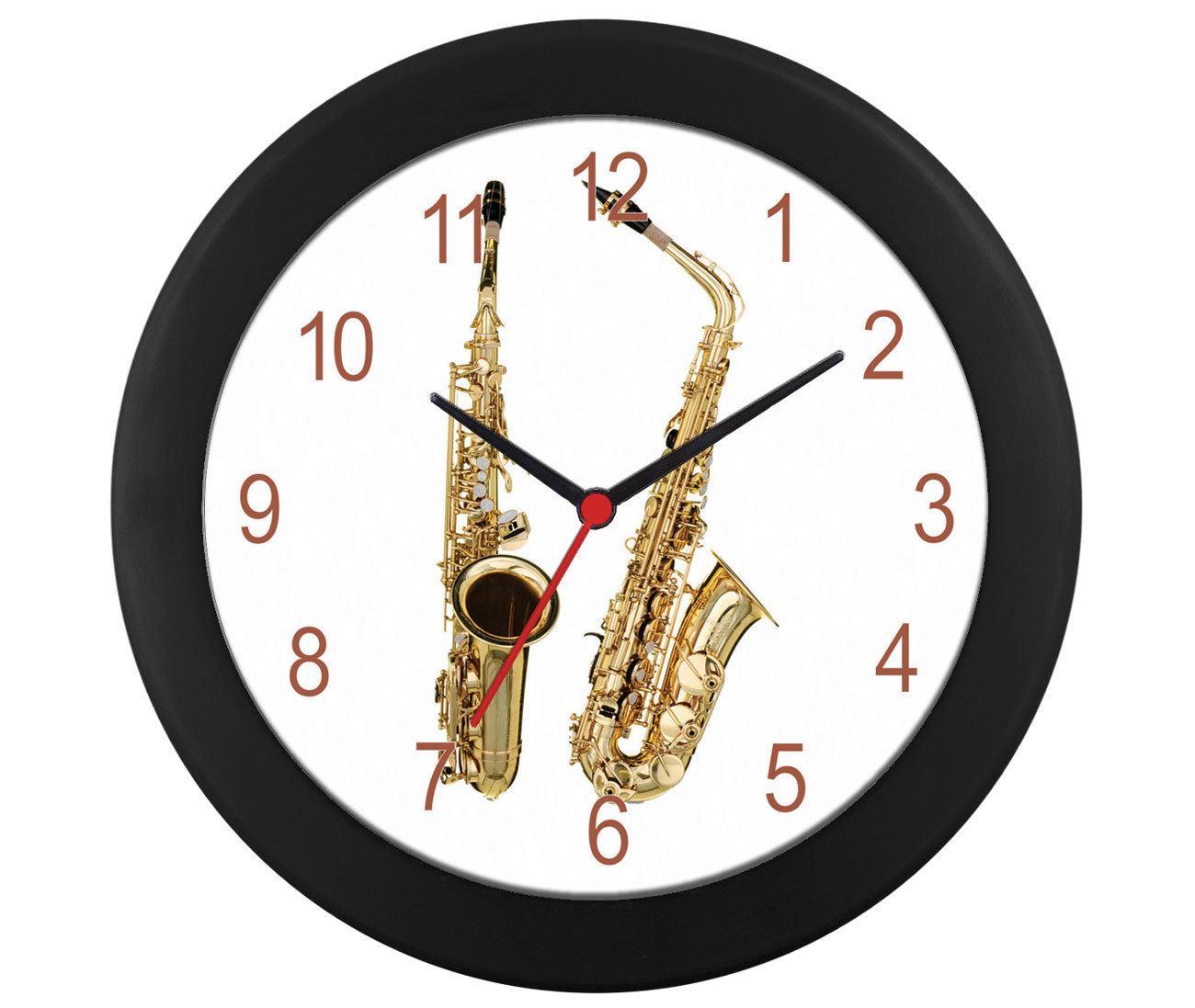 Relógio Parede saxofone modelos