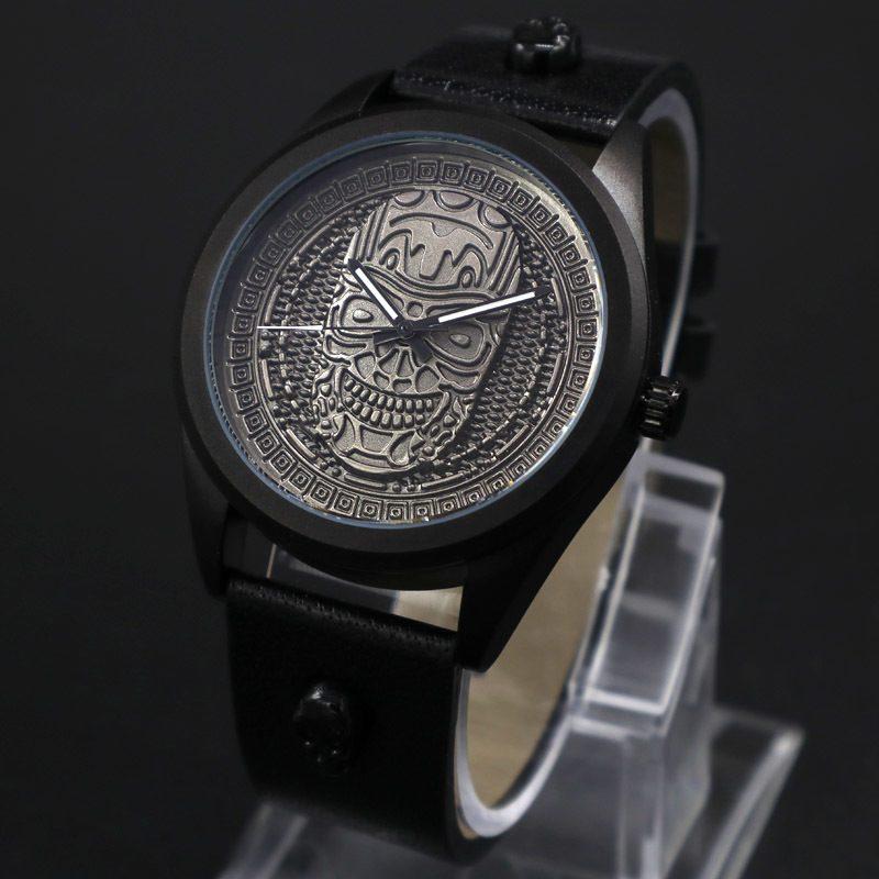 Relógio Skull BOHO Prata – SkullAchando