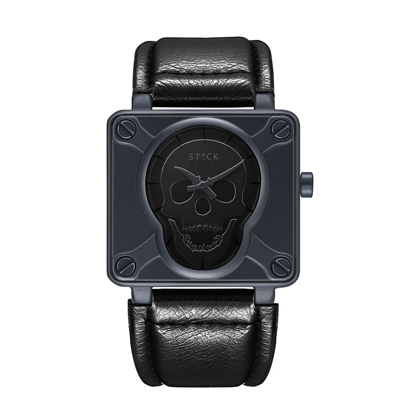 Relógio Skull Sword Preto  - SkullAchando