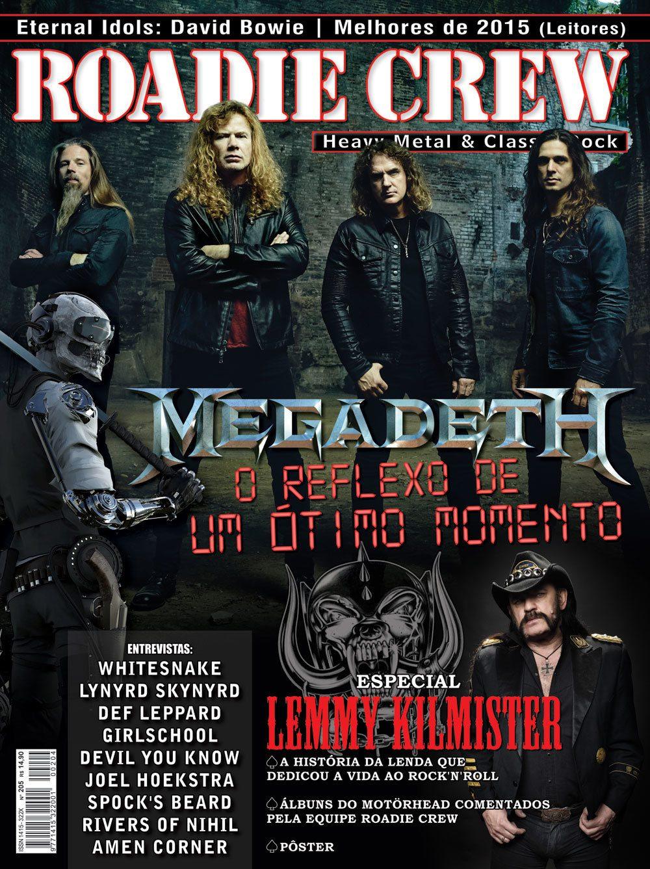 Revista Roadie Crew #205