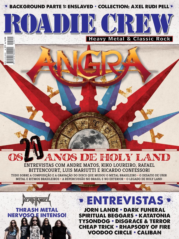 Revista Roadie Crew #211