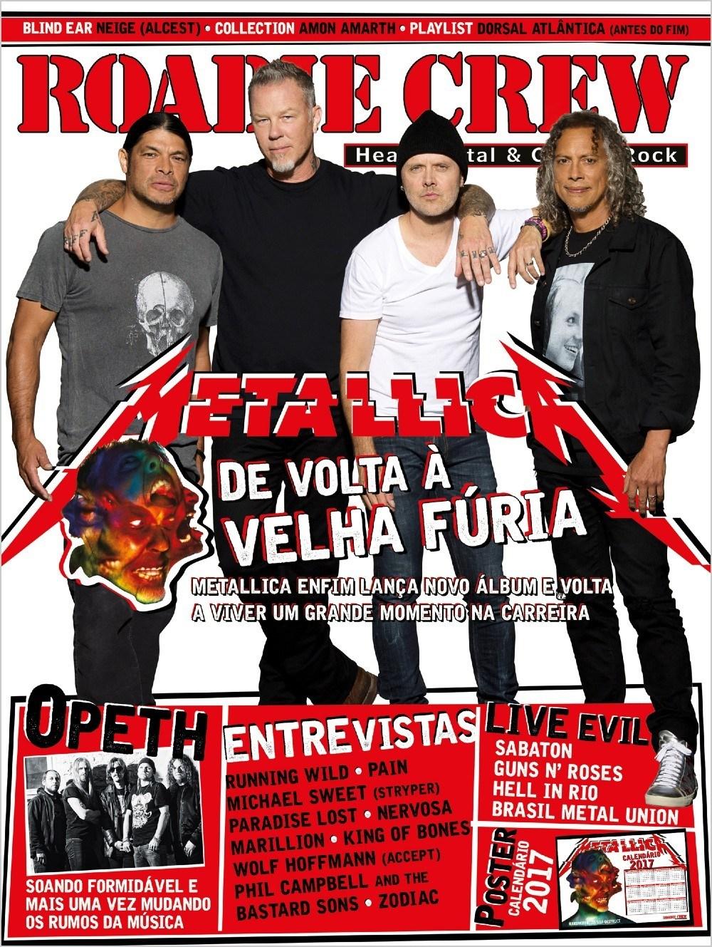 Revista Roadie Crew #215