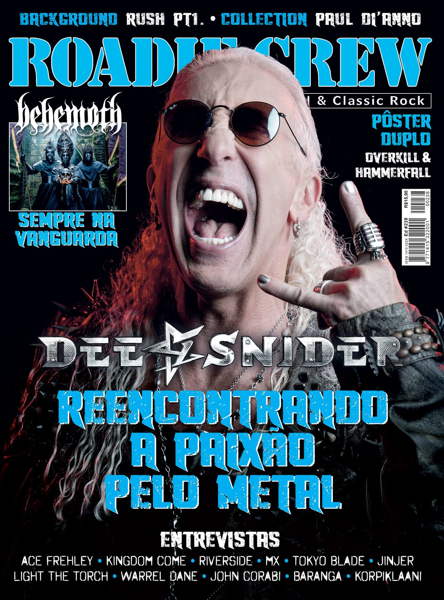 Revista Roadie Crew #238