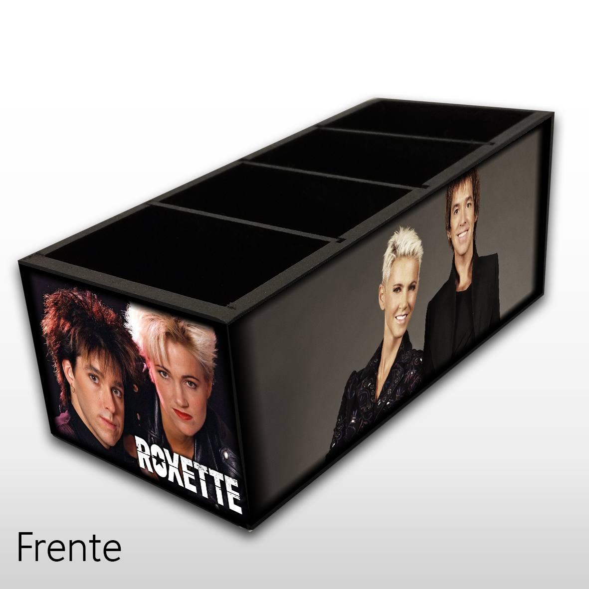 Roxette - Porta Controles MDF - 4 Espaços - Mr. Rock
