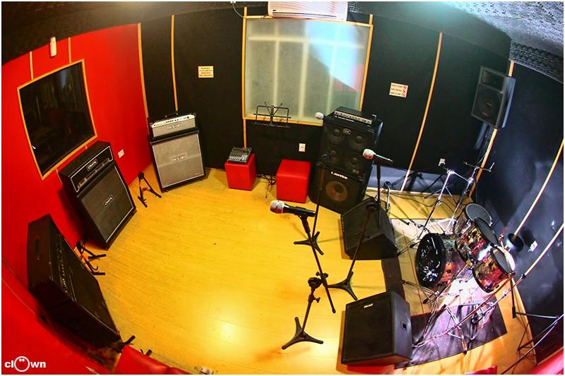 Sala de Ensaio 02 com 1h de Duração - Studio Pub