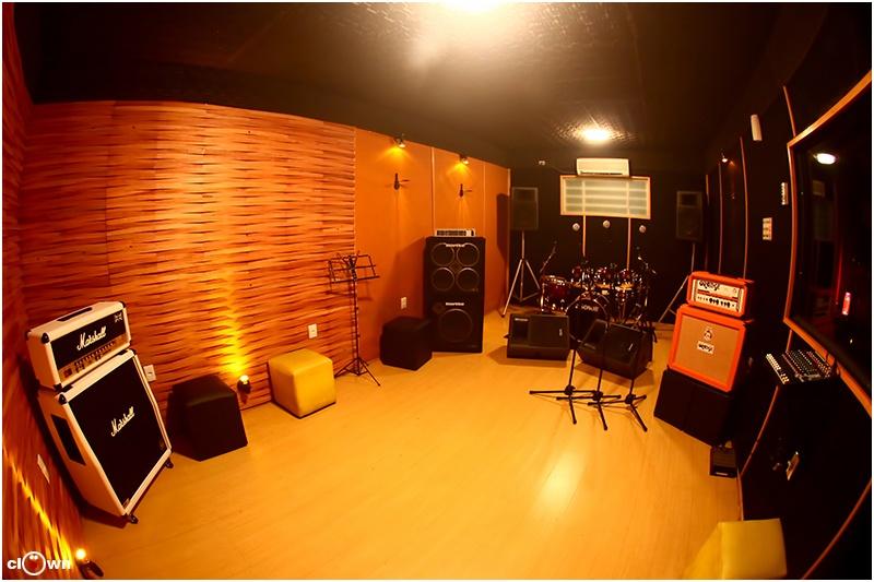 Sala de Ensaio 03 com 1h de Duração - Studio Pub