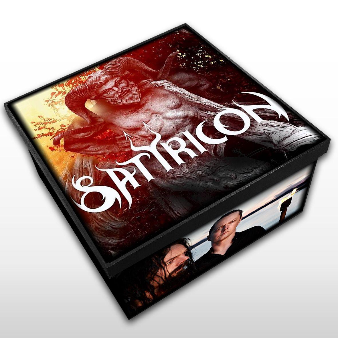 Satyricon - Caixa Organizadora em Madeira MDF - Tamanho Médio - Mr. Rock