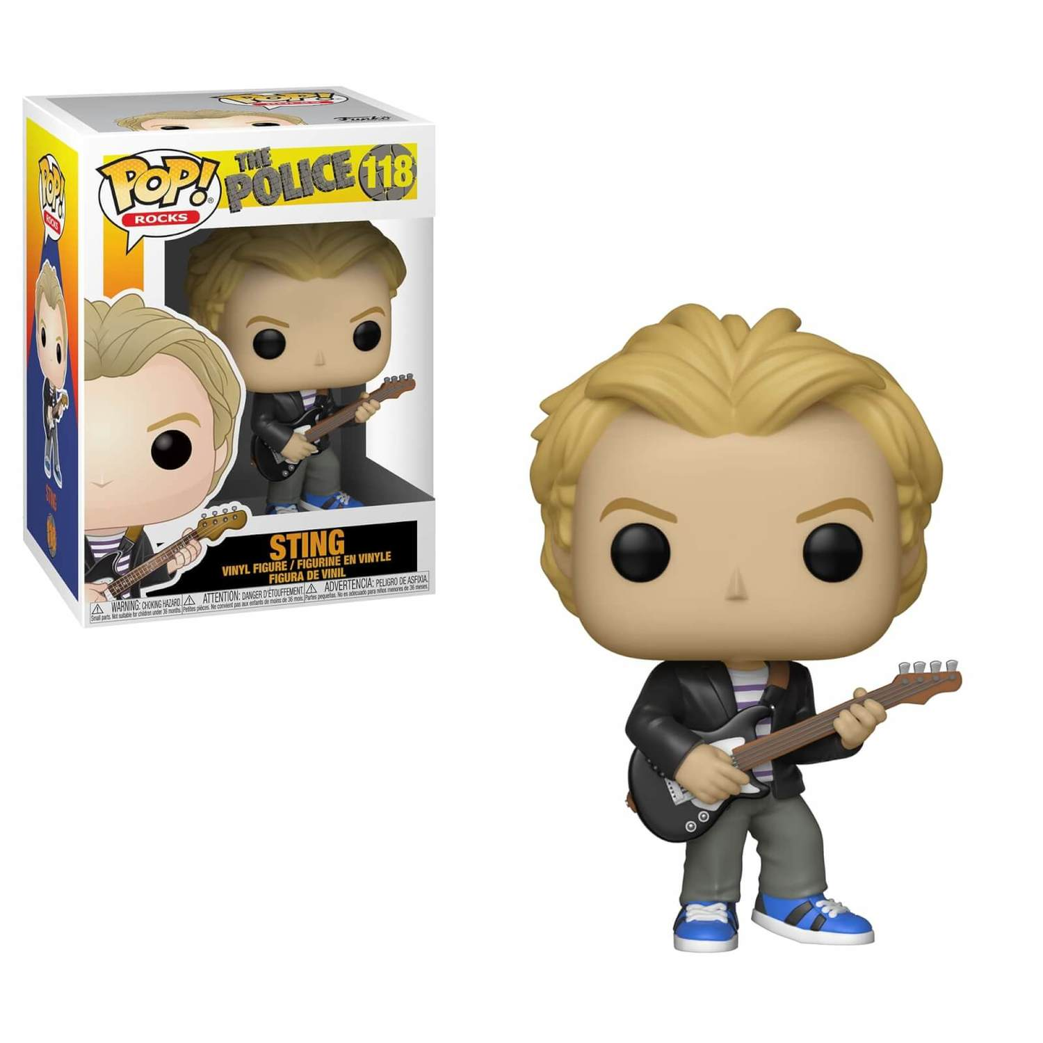 Sting - The Police - Funko Pop!