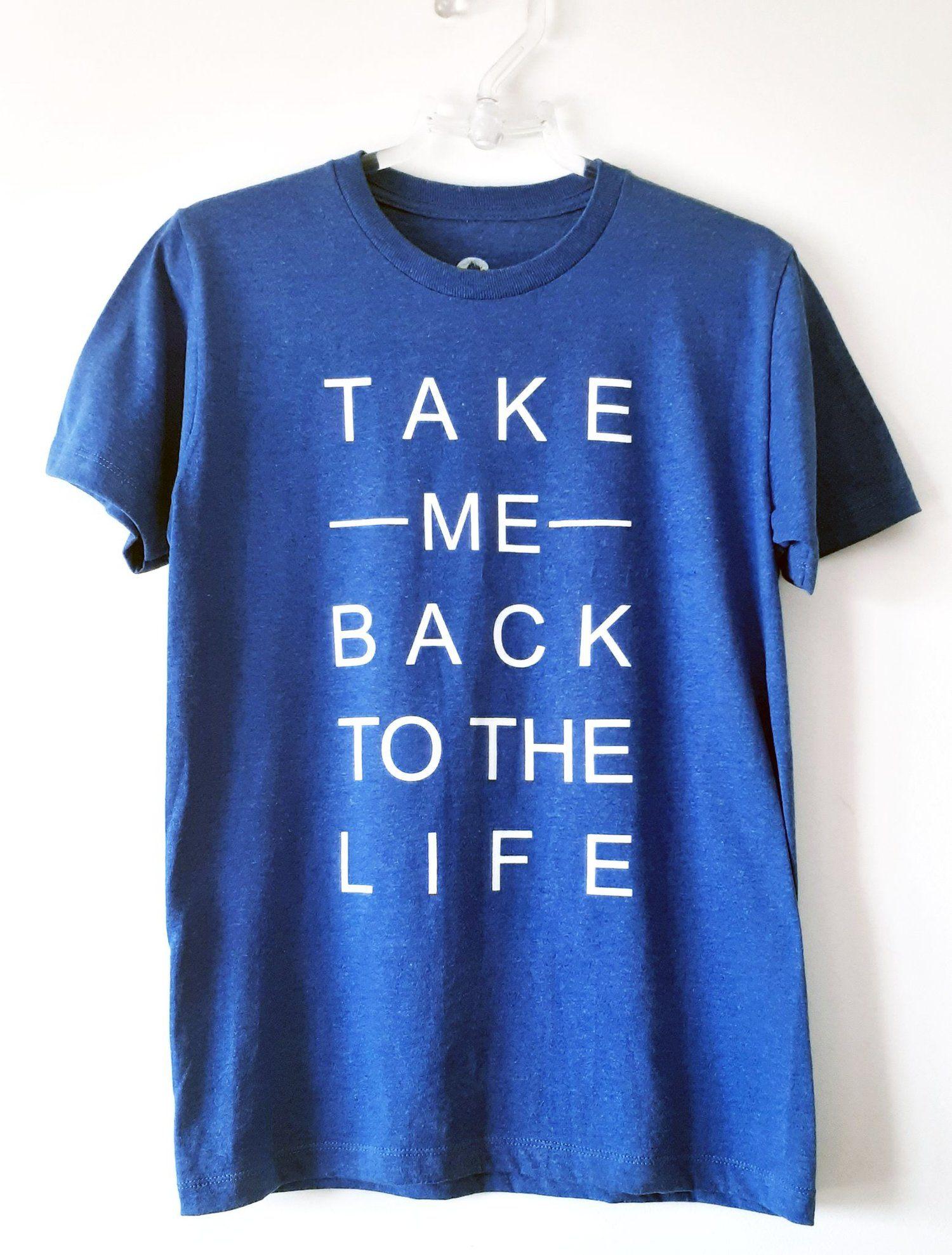 T-Shirt Take me back - High High