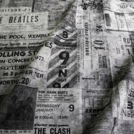 Tecido Ticket P&B – Rvalentim