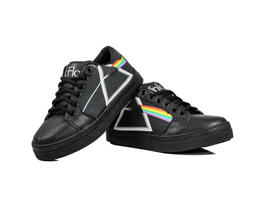 Tênis BandShoes Feminino Cano baixo Pink Floyd