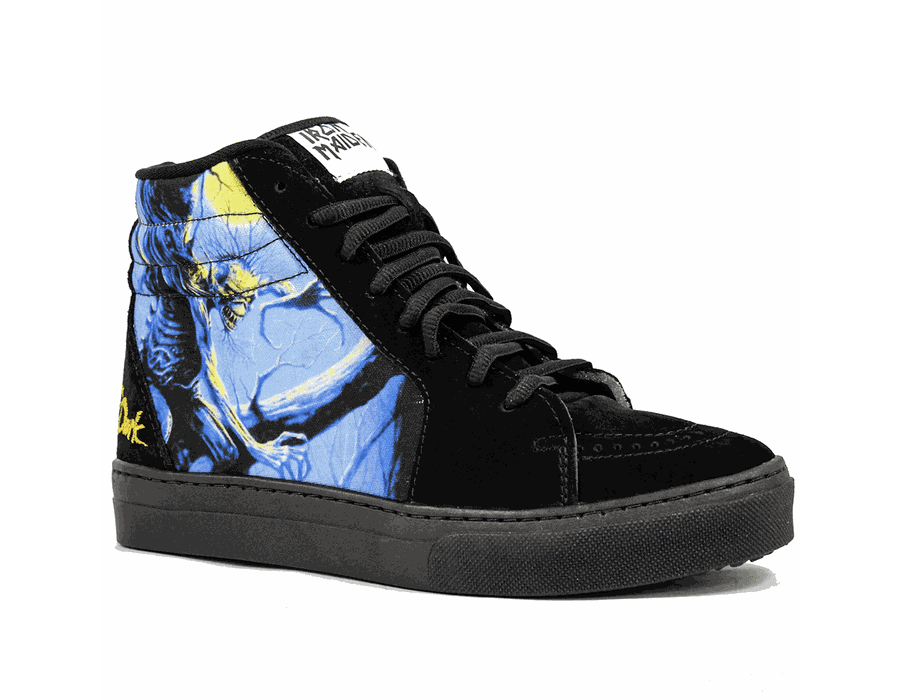 Tênis BandShoes Feminino Iron Maiden Fear of the dark