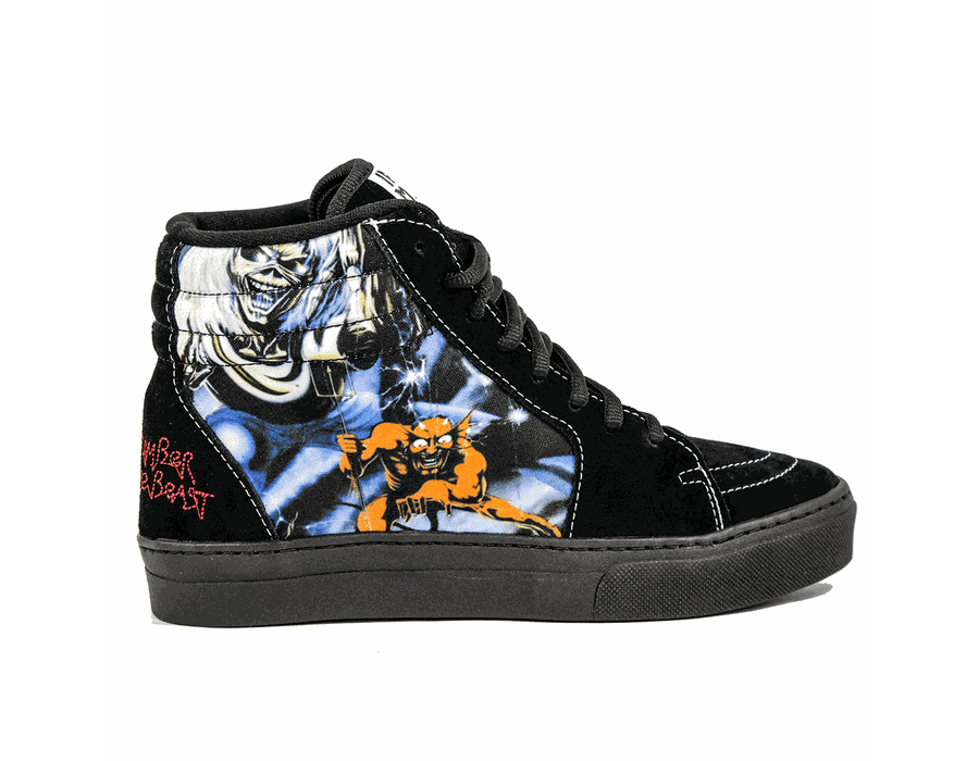 Tênis BandShoes Feminino Iron Maiden The Number of the beast