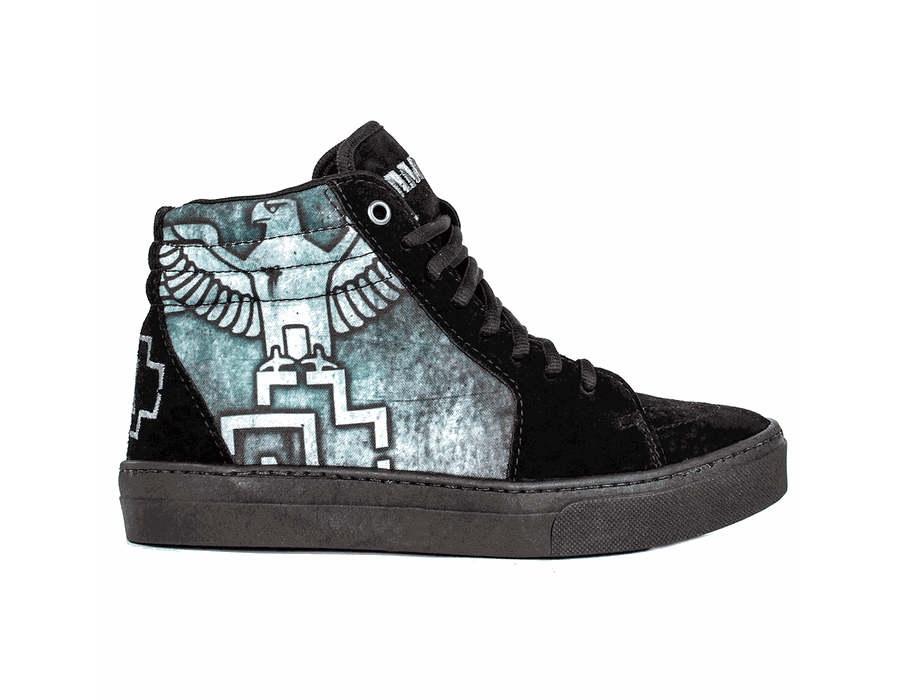Tênis BandShoes Feminino Sk8 Rammstein