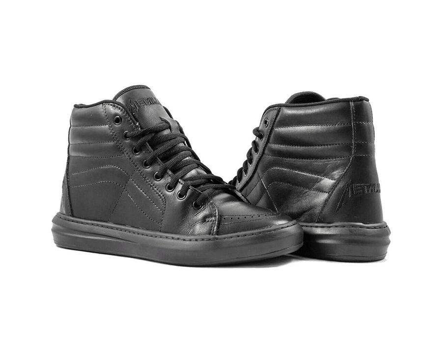 Tênis BandShoes Masculino Metallica Couro Latego