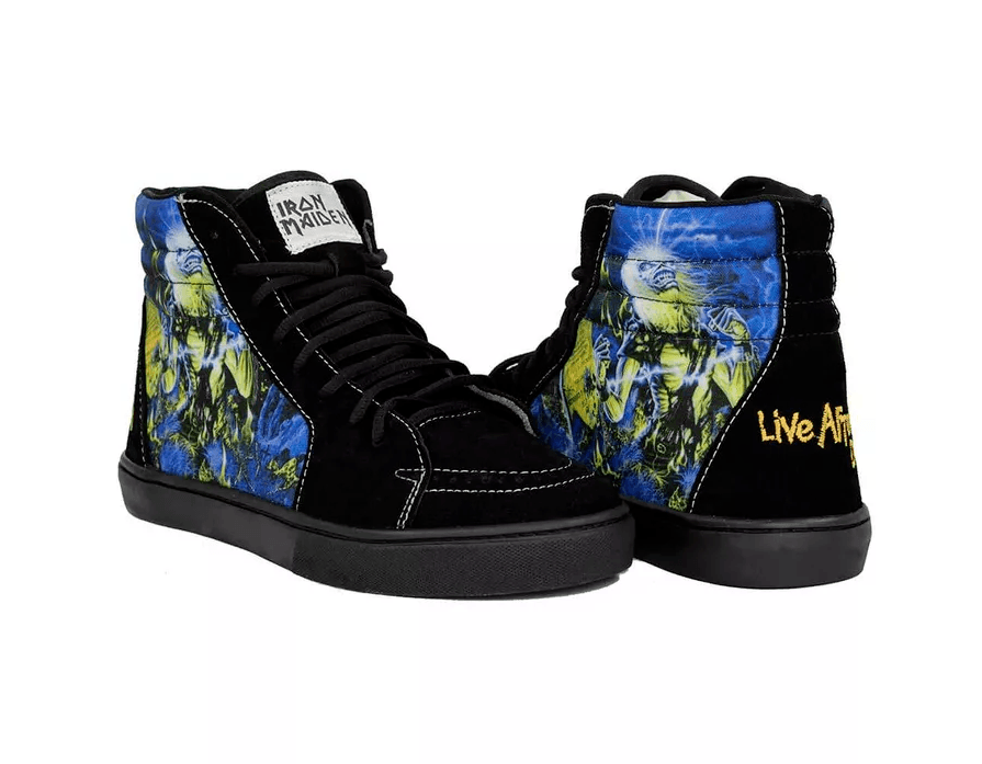 Tênis BandShoes Masculino Iron Maiden Live After Death