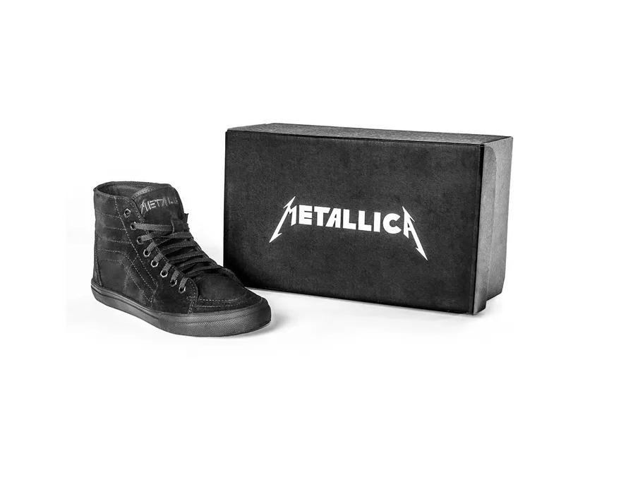 Tênis BandShoes Masculino Cano Alto Metallica