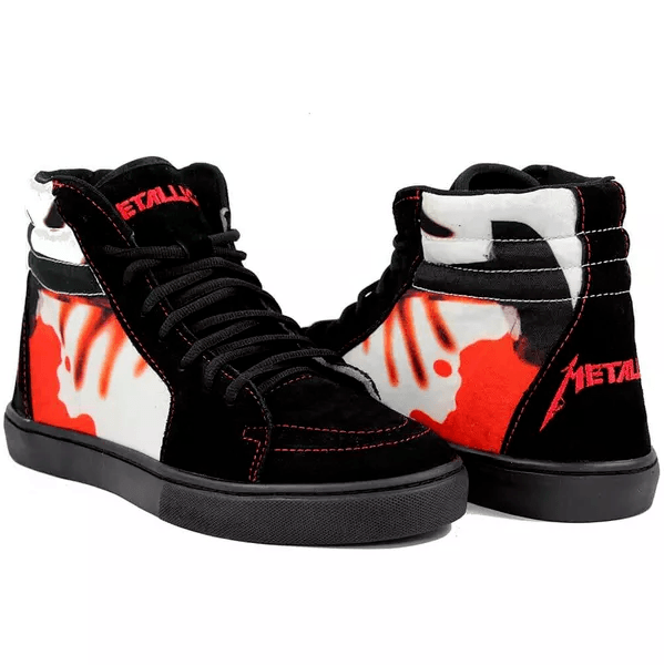 Tênis BandShoes Masculino Metallica Kill 'em All