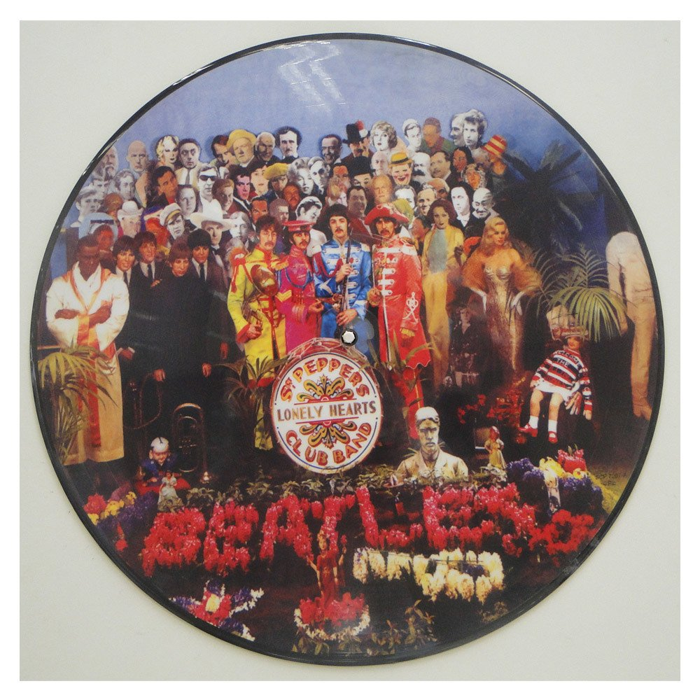 The Beatles – Sgt. Pepper's lonely hearts club band – Vinil Importado Colorido Picture disc