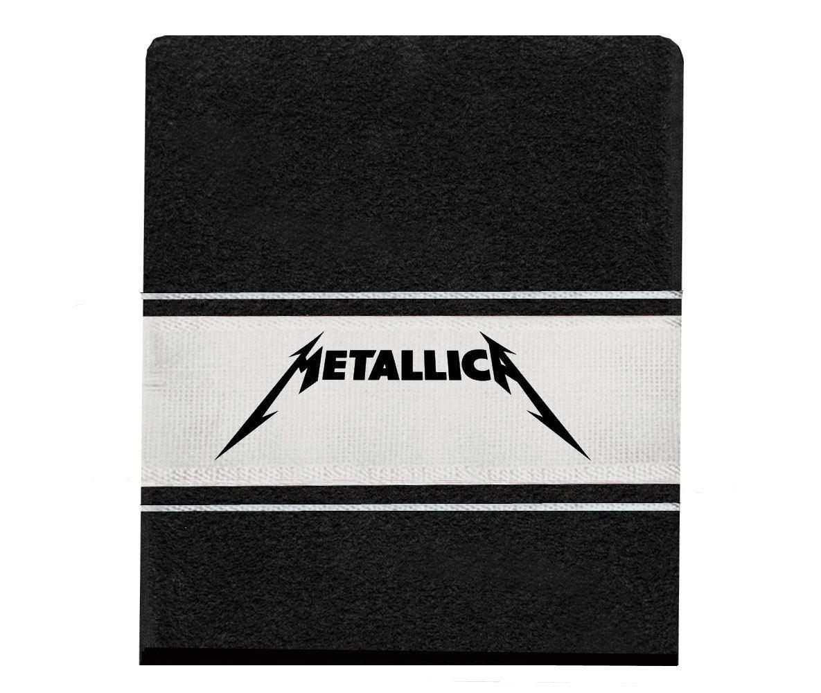 Toalha Metallica mão