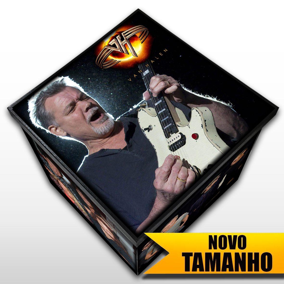 Van Halen - Caixa em MDF - Tamanho Grande - Mr. Rock
