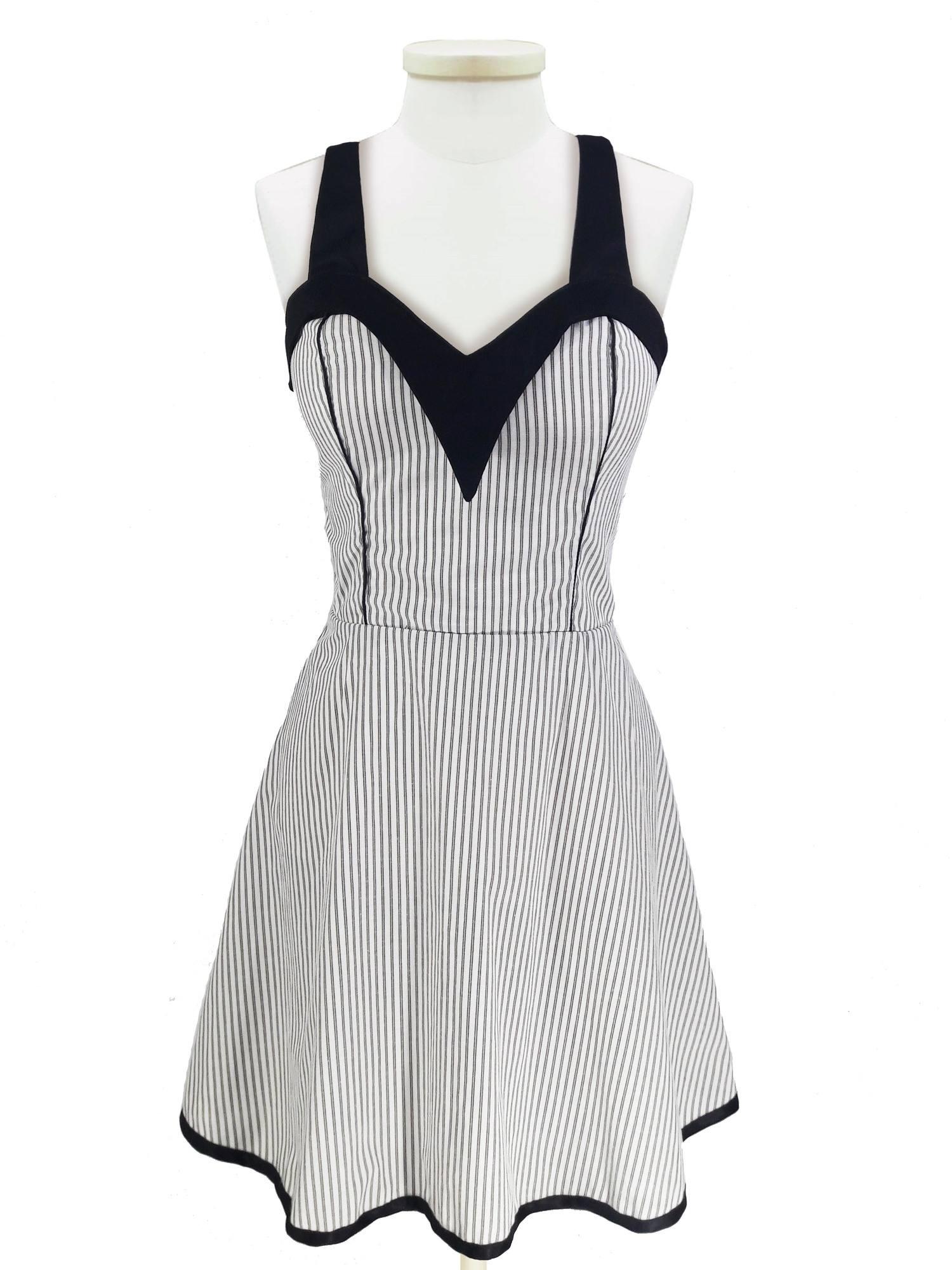 Vestido - Black Stripe