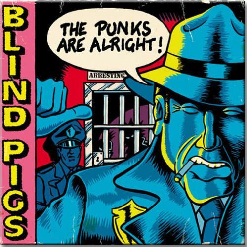 LP Vinil Blind Pigs - The Punks Are Alright